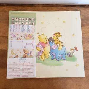 Brand new winnie the pooh scrapbook kit